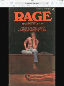 Looking for Stephen king's RAGE