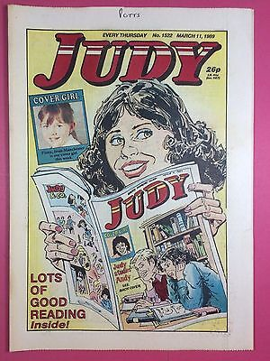 JUDY - Stories For Girls - No.1522 - March 11, 1989 - Comic Style Magazine