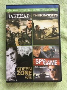 Four feature film DVD collection