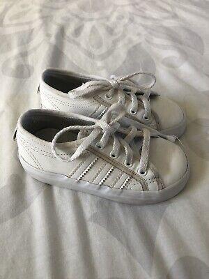 Infant Adidas Nizza Trainers Size 7