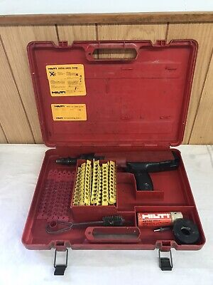 Hilti Dx36m Dx 36 M Powder Actuated Nail Stud Gun Fastening Tool Used Working