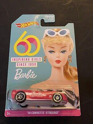 New Hot wheels Corvette stingray Barbie 60th Year Anniversary
