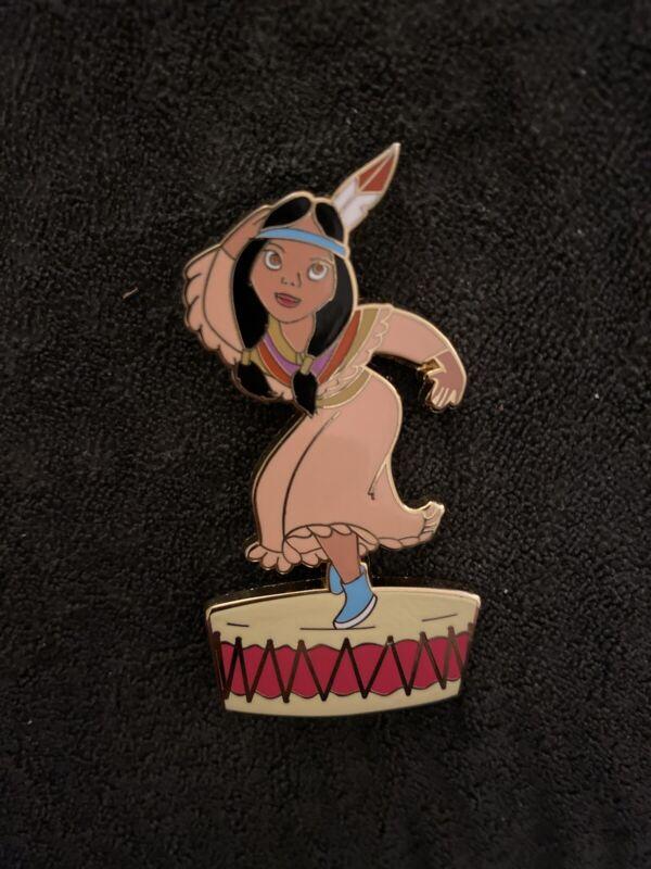 Disney Pin Shopping Le100 Tiger Lily Dancing On Drum Peter Pan