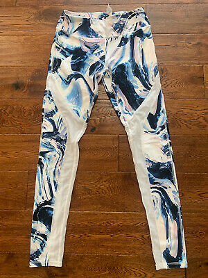 Fabletics High Waisted 7/8 Capri Leggings Sz XS Multi Colored leggings