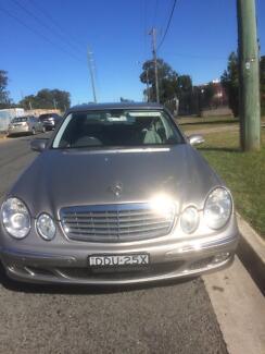 2005 Mercedes-Benz E280 Sedan Ingleburn Campbelltown Area Preview