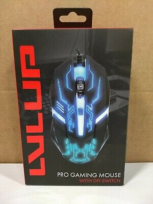 LVLUP Pro Gaming Wired Mouse With DPI Switch