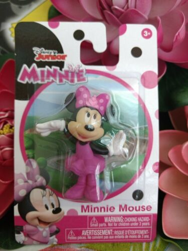Disney Junior ~ MINNIE MOUSE in Ballerina Dress Collectible Figure by Just Play