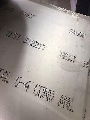 .045 X 12 X 6.250 6al-4v Titanium Sheet