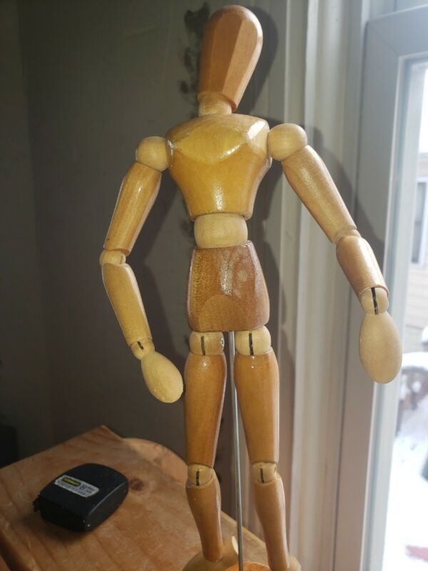 Unbranded small Wooden Drawing Mannequin Excellent Condition