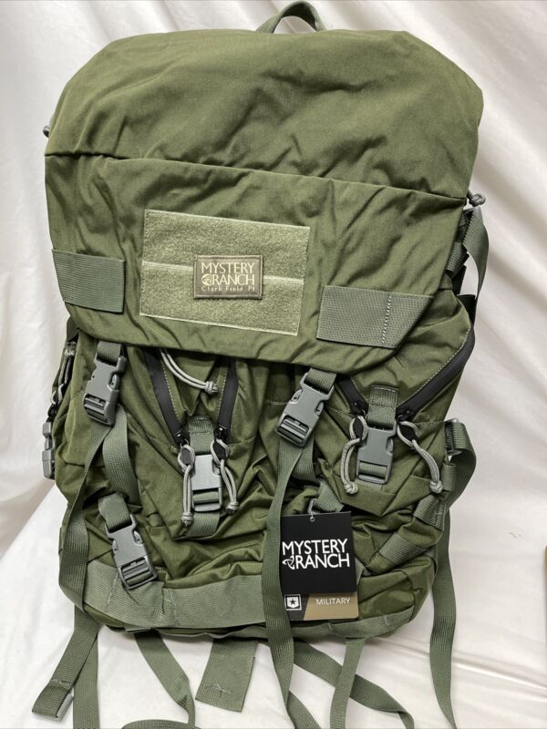 Mystery Ranch Mountain Ruck Sack Bag 5300 cu. NICE Frame Oliver Drab Backpack