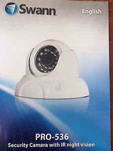 Pro-537 Security Cameras with IR Night Vision