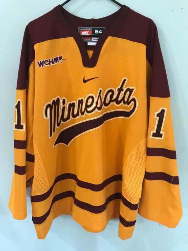 ▪️Mike Hoeffel - 2007/08 Minnesota Gophers NCAA Game Used Worn Hockey Jersey