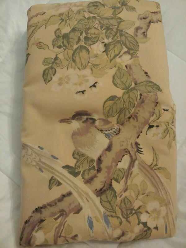 Vintage Springmaid Metropolitan Museum Art Collection Song birds Full/ Queen EUC