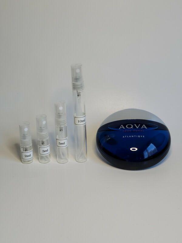 Bvlgari Aqva Atlantiqve Authentic 2ml 3ml 5ml 10ml Sample