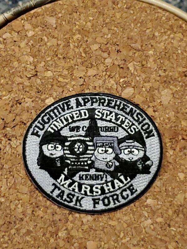 United States Marshal Fugitive Apprehension Task Force South Park Patch RARE (1)