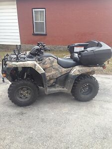 LOW kms. 2014 Honda Four Trax 4X4 420