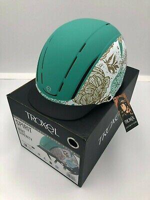 Troxel Spirit Low Profile Equestrian Helmet - Mint Serenity Troxel Equestrian Spirit Helmet