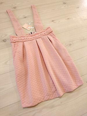 Fluffy&Soft Quiting Suspender skirt LIZ LISA Japan-M Hime Gyaru Jfashion Autumn