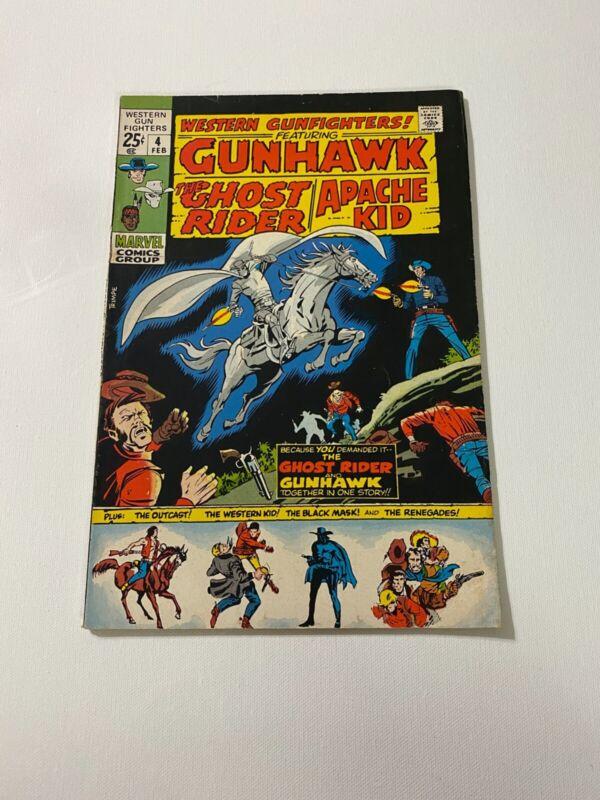 Western Gunfighters Issue #4 (Marvel,1970)