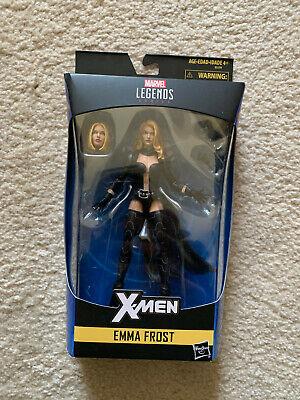 """Marvel legends 6"""" Emma Frost Walgreens Exclusive NON-MINT Box"""