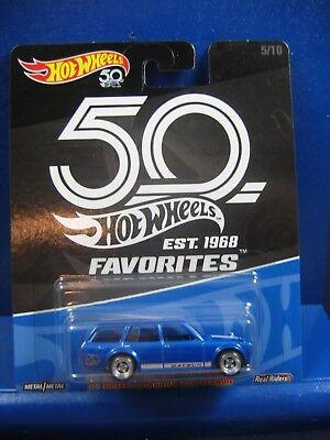 2018 Hot Wheels 50th Favorites 71 Datsun Bluebird 510 Wagon
