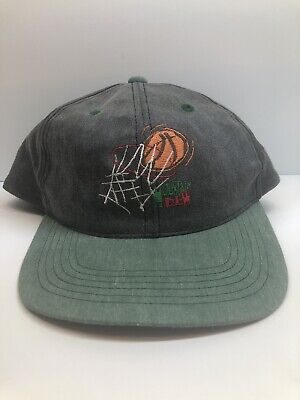 Vintage Used Mountain Dew Baseketball Hat RARE Free Shipping Collectible