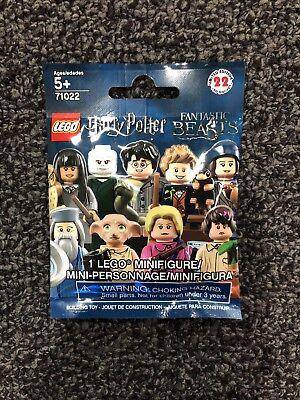 LEGO 71022 - Harry Potter PERCIVAL GRAVES Minifigure - New, Unopened! RARE