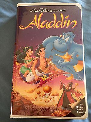 Aladdin (VHS, 1993) Factory Sealed- Brand New!! Black Diamond Rare❤❤️❤❤