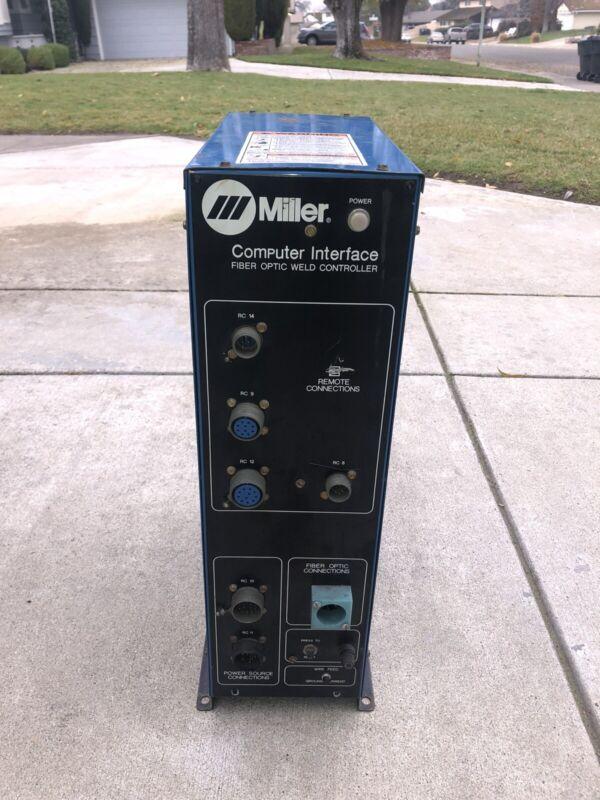 MILLER Computer Interface Fiber Optic Weld Controller