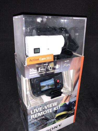 Sony AZ1VR HD Mini Action Cam with Remote White HDRAZ1VR/W