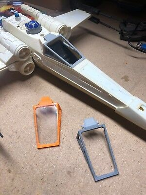 STAR WARS X-WING CANOPY PART FITS 1978 & 1982 SHIPS 3d Printed