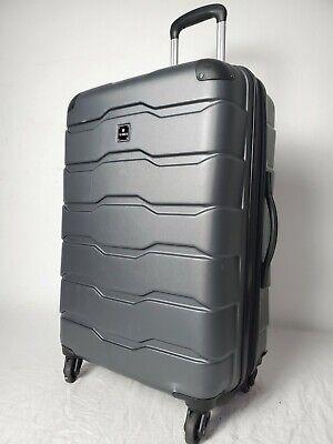 $240 TAG Matrix 2.0 24'' Hard Spinner Lightweight Suitcase Luggage Gray