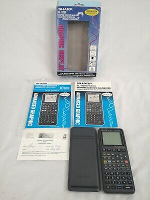 SHARP EL-9200C Graphing Scientific Calculator w/ Owner