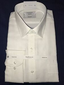 Brand new - Van Heusen business shirt 43 white classic fit Chatswood Willoughby Area Preview