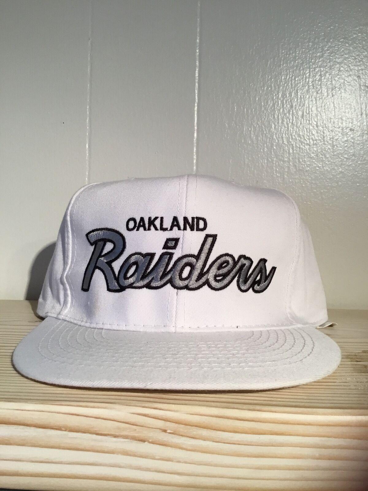 fdfac943817 Vintage 80s 90s Oakland Raiders Snapback Hat for sale online