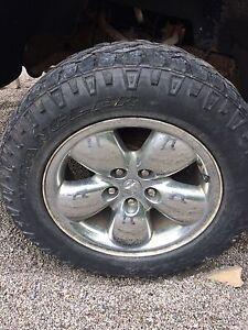 """20"""" chrome Dodge Ram rims"""