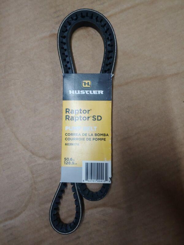 HUSTLER GENUINE OEM Hydro Pump Drive Belt for Hustler Raptor 603907 SPECIAL TYPE