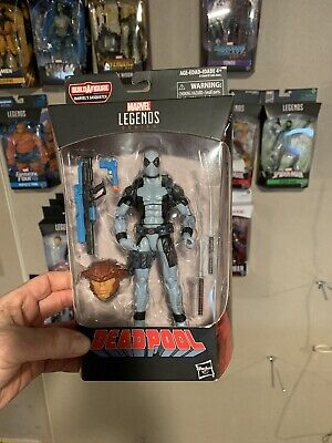 Marvel Legends 6 Inch Xmen X Force Deadpool Grey Sasquatch Series BAF Avengers