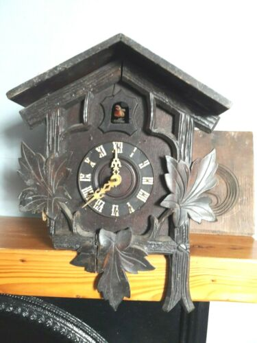 Early Black Forest Cuckoo clock