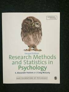 Research Methods and Statistics in Psychology, 2nd Edition Textbook