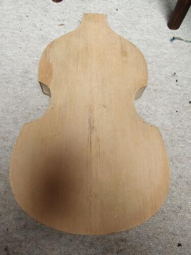 Old body of a Hofner Beatles bass guitar,  German Made approx. 1960 NOS