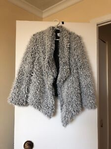 Hardly worn Faux fur coat