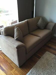 Unused two seater with matching ottoman/pull out bed Cronulla Sutherland Area Preview