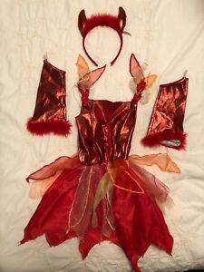 Costume diablesse fille taille toddler (~4 ans)