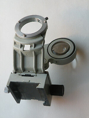 Lomo Condenser Holder For Microscope Polam Lumam Biolam L