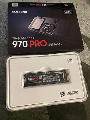 Samsung 970 PRO 512GB,Internal,NVMe M.2 (MZ-V7P512BW) Solid State Drive