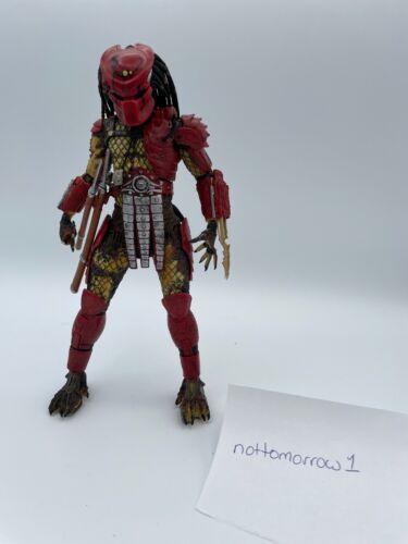"Big Red Predator 7"" NECA Figure - Loose - Swords but No Other Accessories"