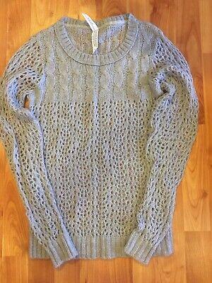 Aeropostale Womens Gray Sweater