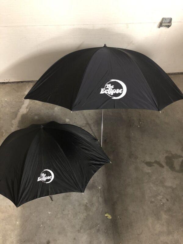"""2 Photogenic Eclipse Silver 1 Umbrella 32"""" And Small Umbrella"""