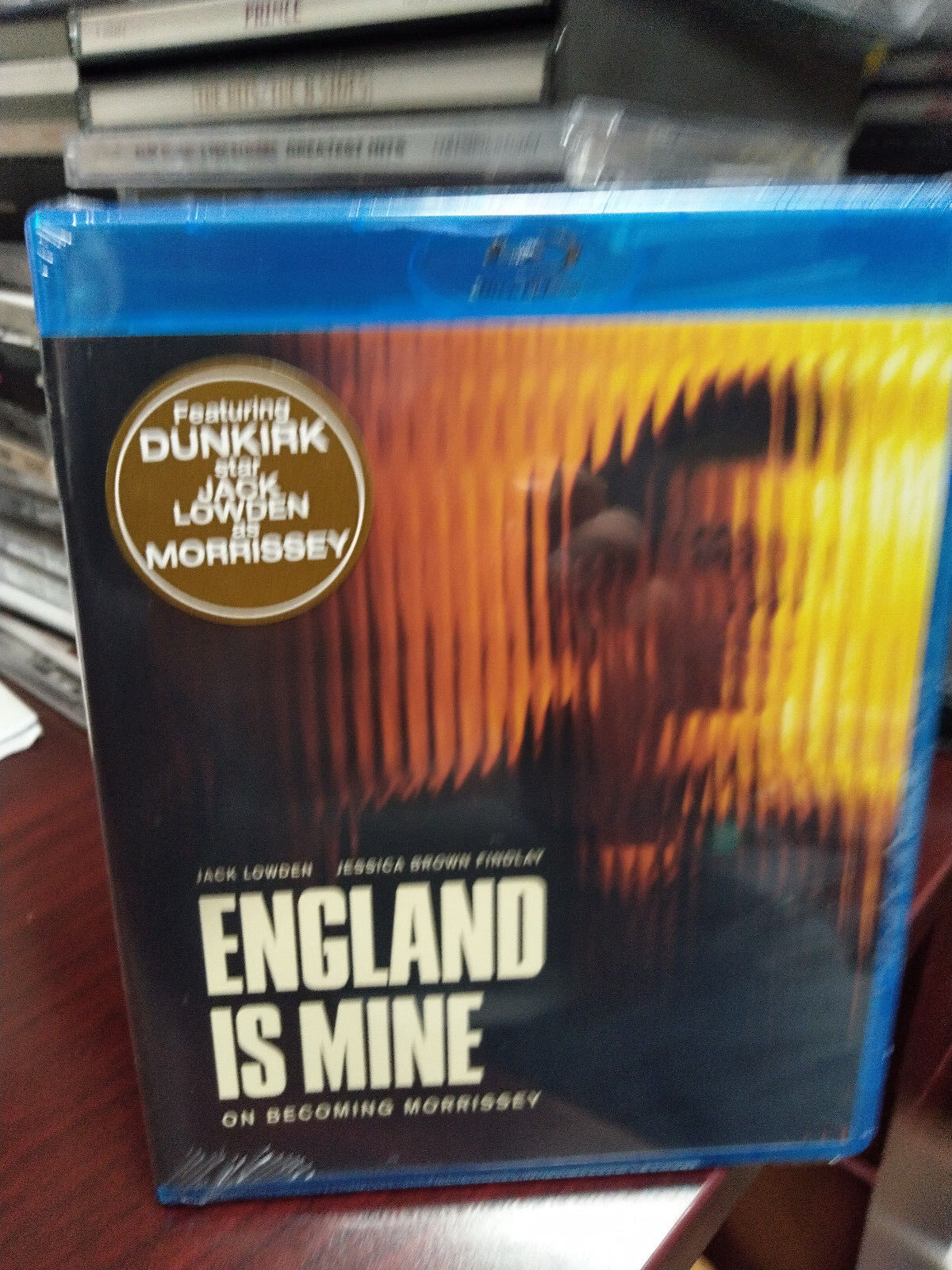 ENGLAND IS MINE On Becoming Morrissey Blu-ray Jack Lowden J